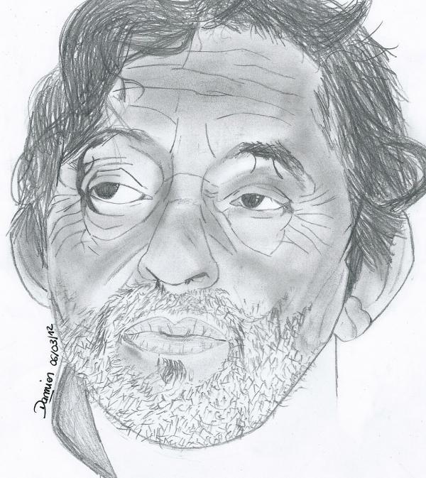 Serge Gainsbourg by gohansaiyen2